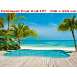 Fototapet decorativ cod-127 Pool