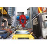 Fototapet Marvel cod 1-425 Spiderman Rush Hour 184x127cm