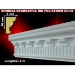 Cornisa decorativa din polistiren CD-02